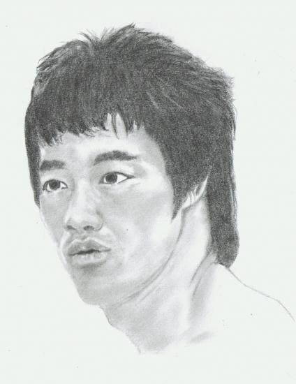 Bruce Lee par Ammo461